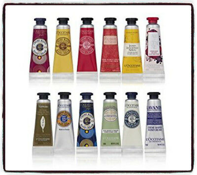 L'OCCITANE Hand Creams Enriched with Shea Butter 10ml UNUSED - FREE POSTAGE
