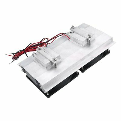 12V 120W Semicond Refrigeration Cooler Fan Thermoelectric Water Cool Device QT57