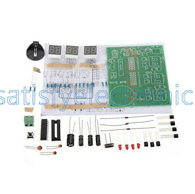 AT89C2051 Digital 4/6 Bits Electronic Clock Electronic Production Suite Kits
