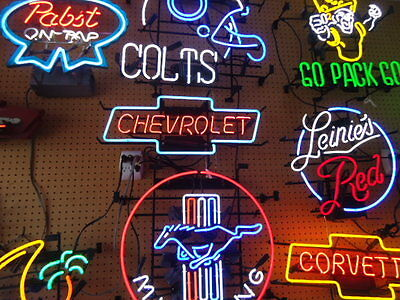 Unused Chevrolet Neon Advertising Light Sign All Neon