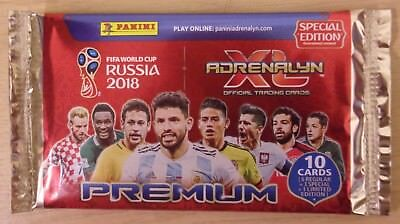 Fifa World Cup Russia 2018 ~ Panini Adrenalyn XL ~ Premium Special Edition Pack