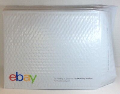 "15 New EBAY Branded Airjacket Envelopes Bubble Mailers Shipping 9.5"" x 13.25"""
