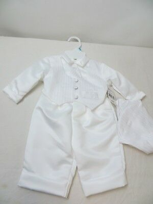 Christening Apparel Size 6-9 Months For Baby Boy 12 -16 Lbs. Polyester/Has Tags