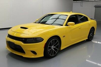 Dodge Charger R/T Scat Pack 4dr Sedan Texas Direct Auto 2018 R/T Scat Pack 4dr Sedan Used 6.4L V8 16V Automatic RWD