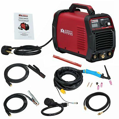 Amico TIG-165 / 160 Amp HF TIG Torch/Stick/Arc Welder 115  230V Dual Voltage