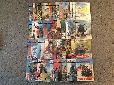 huge joblot of 50 commando books all issues in the 1400's and 1500's