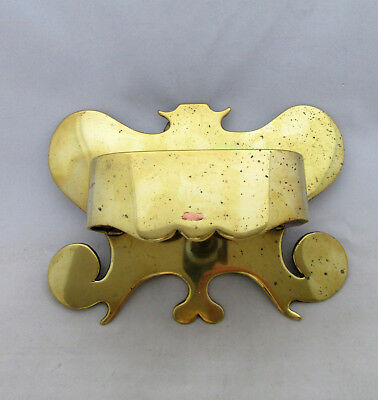 C1920 Hand Made Brass & Copper Wall Pocket/holder, Trench Art?