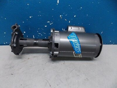 "Wesco Tool Coolant Pump/Motor 1/2 HP 24 GPM 8"" Pump Depth Model #1027"