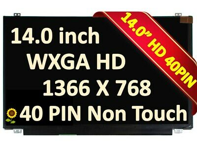 Not for Sony Compatible Replacement Samsung LTN140AT20-D01 Laptop LCD Screen 14.0 WXGA HD LED