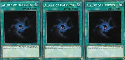 Yugioh Cards 3 X Playset - Multiple Choice From Structure Deck Lair Of Darkness