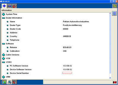 Ford VCM 2 V100 software on DVD, ready to install IDS + Calib files