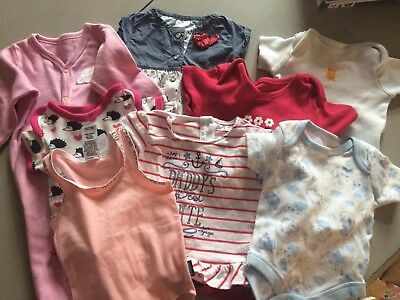 Newborn Baby Girl Clothes Bundle Some With Tags Excellent