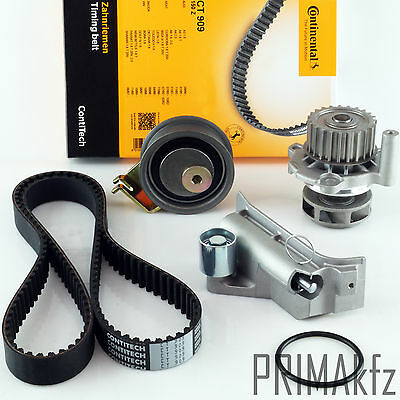 Contitech Timing Belt CT909 + Roller Set Waterpump Audi Seat Skoda VW 1.8 1.8T