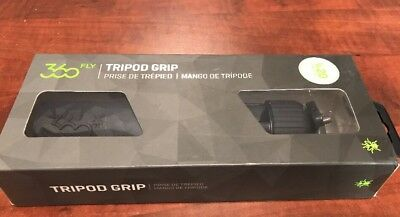 New 360 FLY 1/4-20 Tripod Grip - Rubber Injected Grip Handle Free Shipping!!!