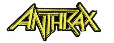 Anthrax Logo Embroidered Patch A030P Slayer Metallica Testament