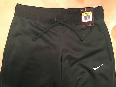 official photos f544e 2fd1d NIKE Womens Therma-Fit Training Pants - NWT - Fleece lined Ankle zipper  Green S