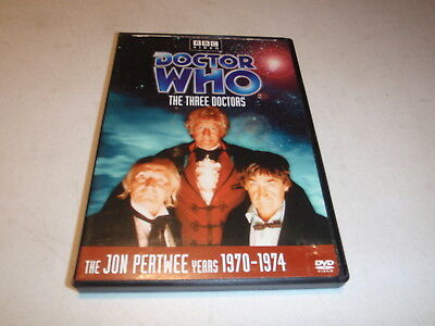Doctor Who The Three Doctors DVD Story #65 Jon Pertwee Years 1970-1974 DVD BBC
