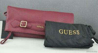 Brand New GuEsS Collections Handbag Ladies Modern Simplicity Bag Wine Satchel