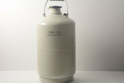 30L Liquid Nitrogen Container Cryogenic LN2 Tank Dewar with Strap