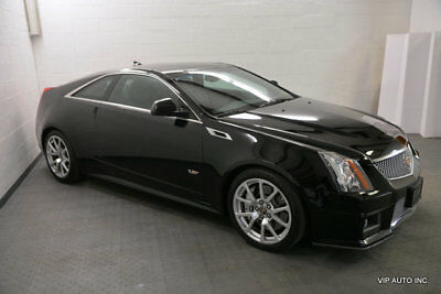 Cadillac CTS-V Coupe 2dr Coupe Cadillac CTS-V Coupe Automatic Moonroof Heated & Vent Seats Rearview Camera