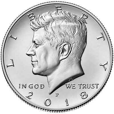 2018 P and D Kennedy Half Dollar Set (2 coins)