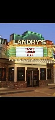 100$(2x50)Landry seafood restaurant Gift Card(email delivery)
