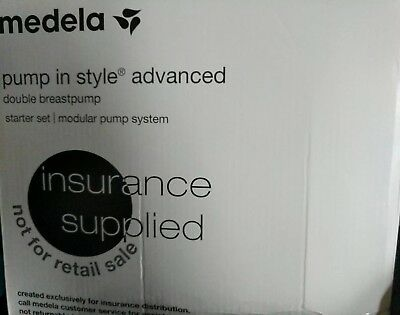 Medela Pump In Style Advanced Breastpump Starter Set (NEW in box) Never used!