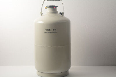 50L Liquid Nitrogen Tank Cryogenic LN2 Container Dewar with Straps