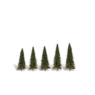 "Woodland Scenics TR3565 Forever Green Pine Trees 2"" - 3.5"" (5) Classics Tree"