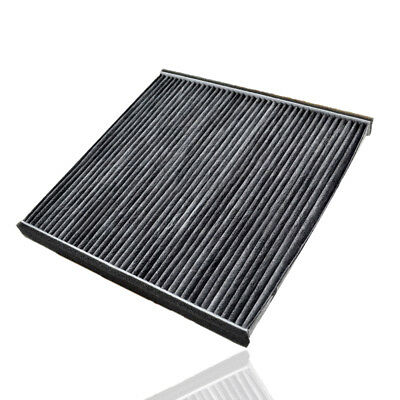 1Pc Car Carbon Fiber Cabin Air Filter Replacement Fit For Toyota Camry Lexus RX