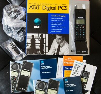 NEW Ericsson LX700 Vintage Mobile Phone Analogue US Edition RARE Collectable