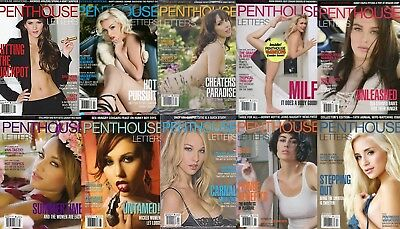 2017 PENTHOUSE LETTERS MAGAZINES FULL YEAR COLLECTION (PDF version)