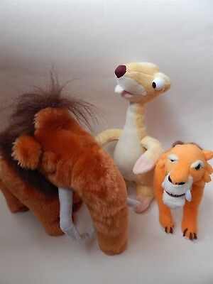 Ice Age soft toys