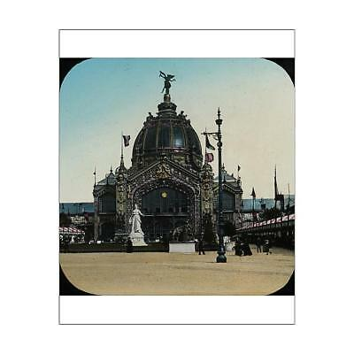 """10""""x8"""" (25x20cm) Print of Paris Exhibition 1900 - The Dome from"""
