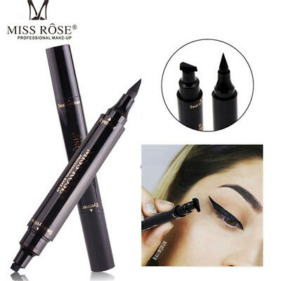 Double Head Eyeline Pencil Seal Stamp 1 Second Cat Eye Wing Makeup Tool