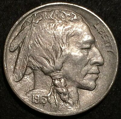 1913 D buffalo nickel U.S. Mint Denver BETTER DATE #876 AU/BU++