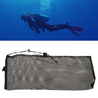 Fast Drying Dive Swimming Mesh Bag Scuba Storage Snorkel Gear Goggles Handbag