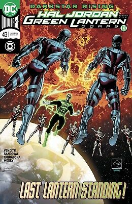 Hal Jordan And The Green Lantern Corps #43 - Dc Universe - Release Date 25/04/18