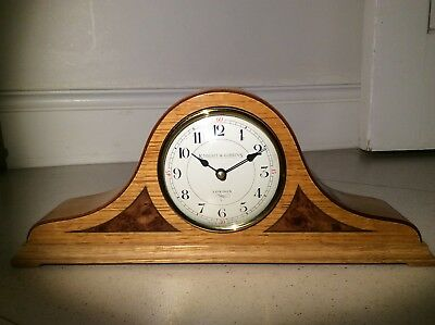 Knight & Gibbins Oak Mantel Clock
