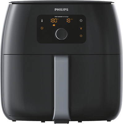 "Philips Airfryer ""XXL"" HD9651/90 Heißluft Fritteuse mit Grillrost Twin Turbostar"