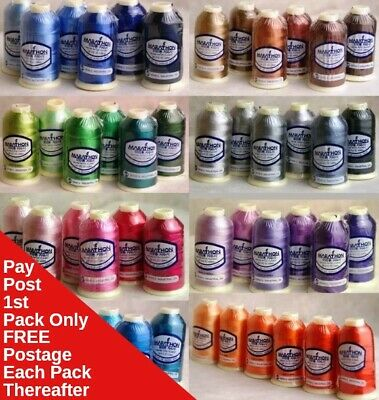 Marathon Rayon Embroidery Machine Thread Set of 6s - Choose your  selection