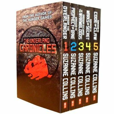 The Underland Chronicles collection 5 Books Set By Suzanne Collins- New