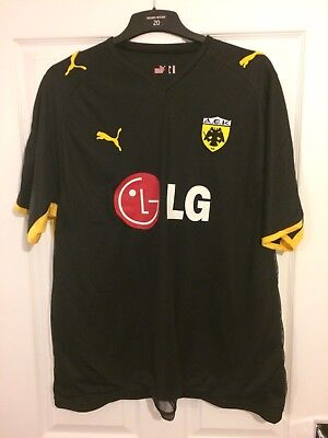 2007/2008 AEK Athens goalkeeper football shirt Puma Greece XXL men's
