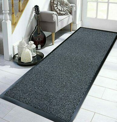 Heavy Duty Charcoal Grey Barrier Mat Rubber Anthracite Non Slip Door Entrance