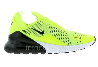 Nike Air Max 270 Volt Bright Green Black White Mens Trainers AH8050-701 f71297976