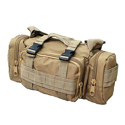 Military Tactical Multi-function Bag Waist Pack Photography Bag Travel Camping