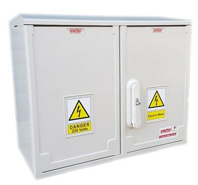 EMITER  530mm x 400mm x 245mm Surface Mounted Electricity Meter Box