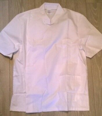 "MENS lab tunic dentist NHS Hospital Science etc  44"" chest Size large /XL"