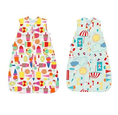 Grobag Baby Sleeping Bag 0.5 tog 0 6 18 36 months 3 - 6 years Summer lightweight