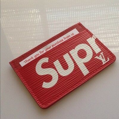 New 1 Supreme  Credit Card Holder  Wallet